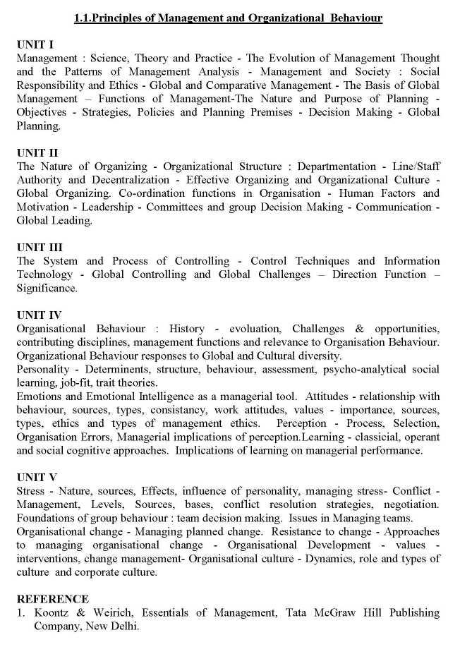 Principles Of Management Koontz Pdf