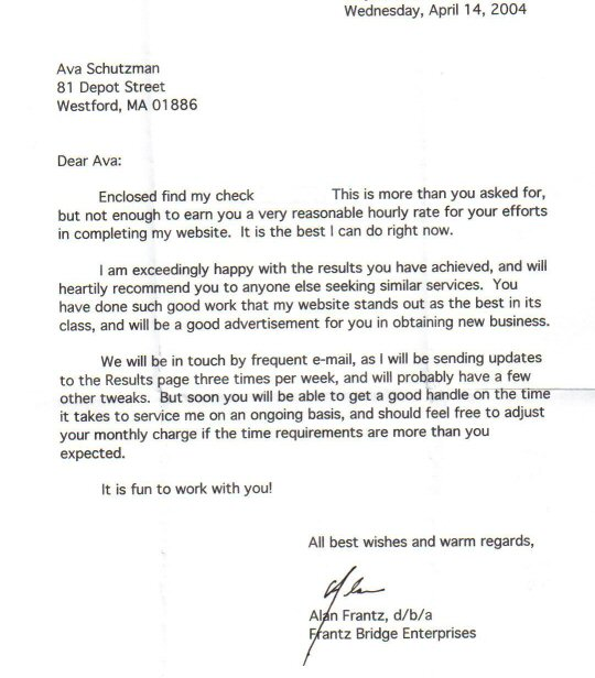 mba recommendation letter format