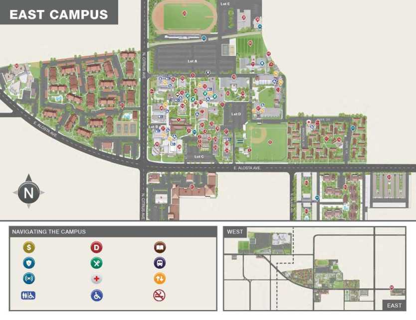azusa pacific university map Azusa Pacific University Duke Academic Complex 2020 2021 Student azusa pacific university map