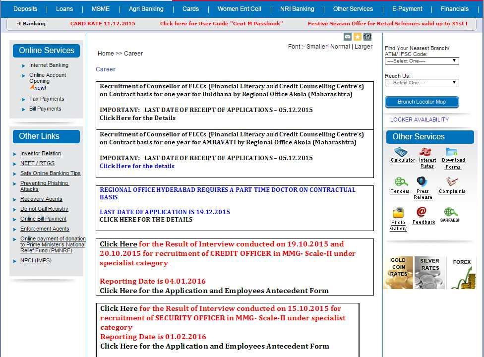 bank of india recruitment 2013 peon