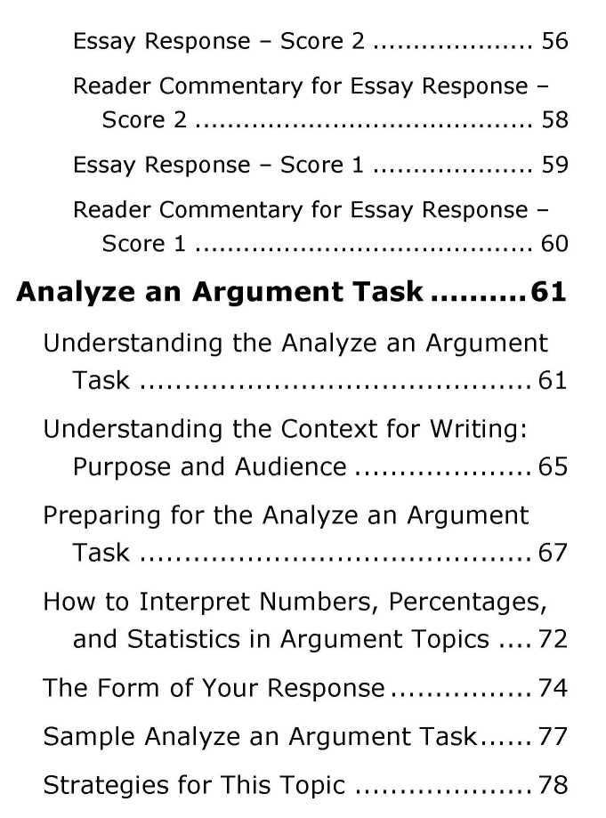 Gre essay questions pool