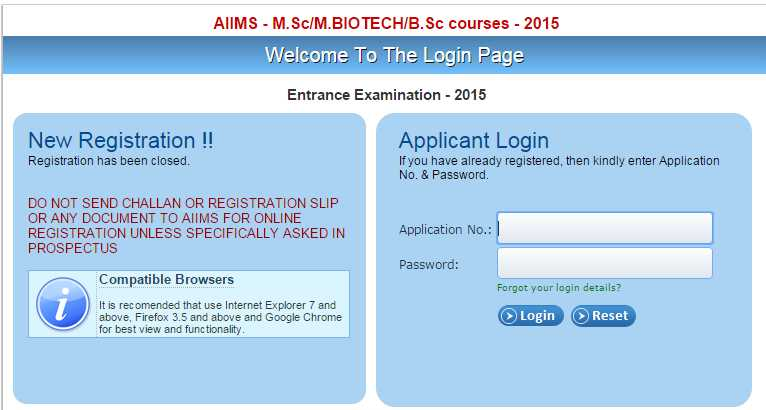 AIIMS Entrance Exam For Bsc Nursing - 2020 2021 Student Forum