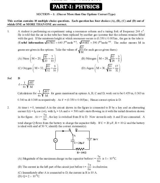 Previous Years Iit Question Papers With Solutions Pdf