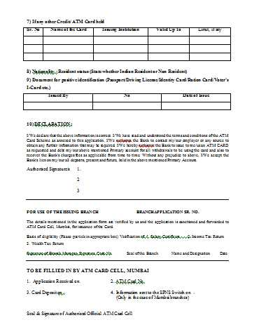 bank of maharashtra online atm apply