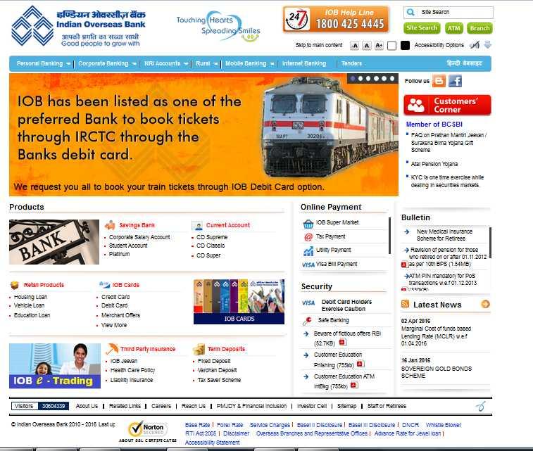 indian overseas bank sowcarpet branch ifsc code