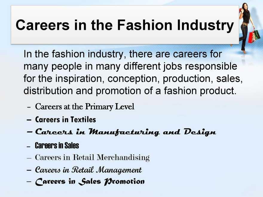 List Of Fashion Careers 2020 2021 Student Forum