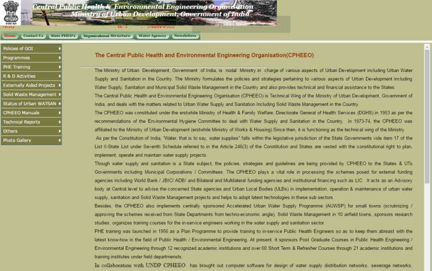 Cpheeo Manual On Water Supply Pdf