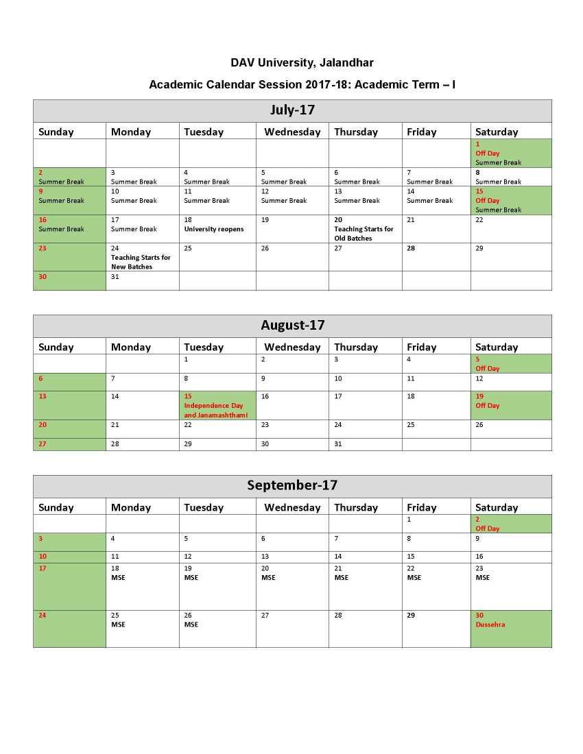 Ksu Academic Calendar Summer 2022.Dav University Holidays 2021 2022 Student Forum