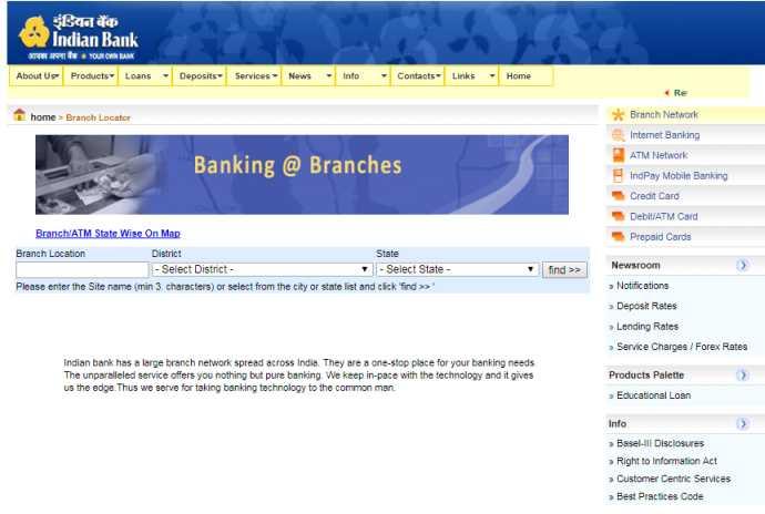 indian bank ifsc code madurai anna nagar branch