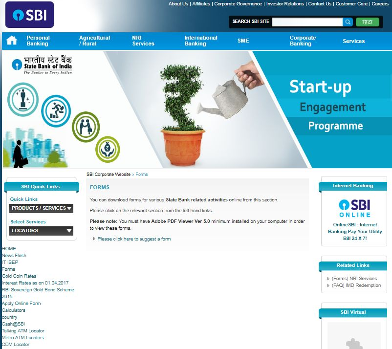how to get internet banking in state bank of patiala