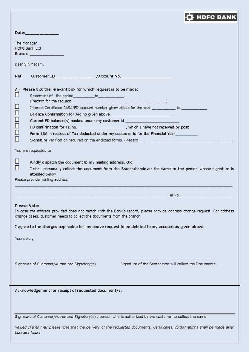 hdfc bank online ecs form