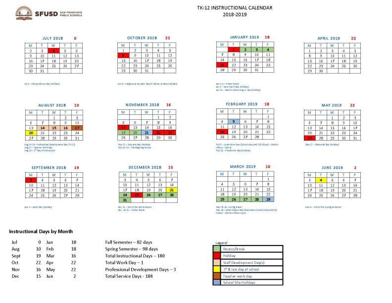 Sfusd Calendar 2022 2023.Sfusd Calendar 2021 2022 Student Forum