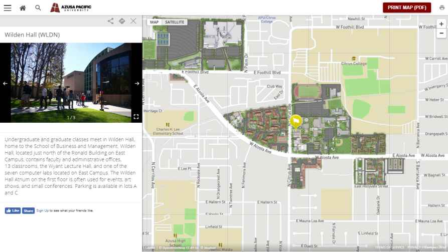azusa pacific university map Wilden Hall Azusa Pacific University 2019 2020 2021 Student Forum azusa pacific university map