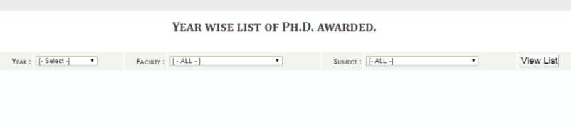 Doctoral thesis on university administration